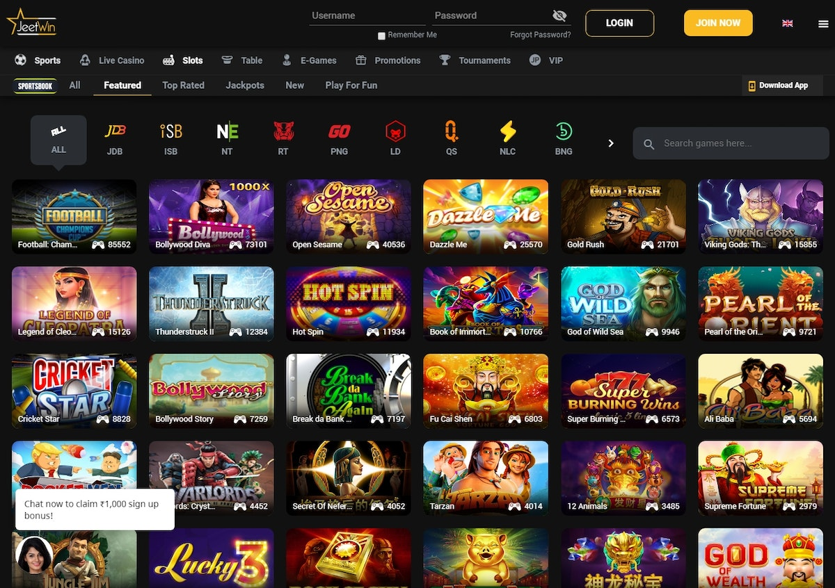 Jeetwin Casino India » Review & Bonus » Up to ₹1000 » May 2020